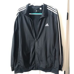 Adidas men's zip up jacket. Size 2xl. Once once